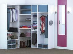 Cabina Armadio Leroy Merlin Quiz : Dressing angle agem closets pinterest dressings interiors