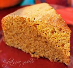 Karina's sweet potato cornbread is gluten-free.