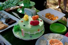 """My version of a """"Where is the Green sheep"""" cake"""