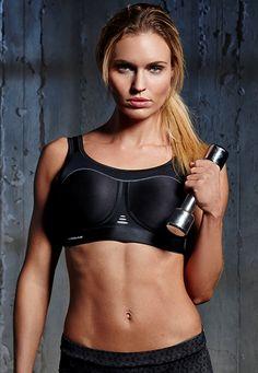 Pure Lime high impact sports bra....