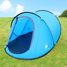 Best Christmas Gift: Large Pop Up Backpacking Camping Hiking Tent Automatic Instant Setup Easy Fold back - Blue , Ideal Christmas Gift GAZELLE OUTDOORS http://smile.amazon.com/dp/B015IV4JK2/ref=cm_sw_r_pi_dp_GbnAwb0PRXW9N