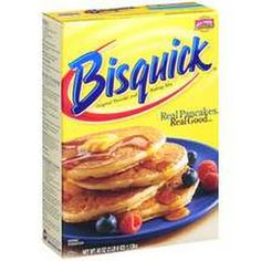 Homemade Bisquick...  this one calls for Crisco.  I don't buy it, but it would help to keep it from needing refrigeration