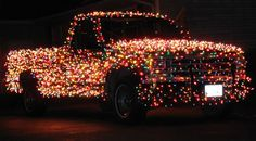 3,000 Lights on Christmas Truck
