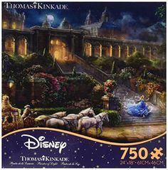 Ceaco Disney Dreams Collection - Cinderella - Clock Strik…