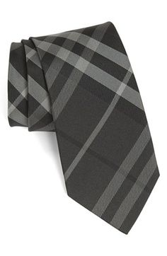 Free shipping and returns on Burberry London Woven Silk Tie at Nordstrom.com. Sharp tonal checks mark a clean-cut tie shaped from pure silk.