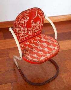 Another amazing vintage chair for kids