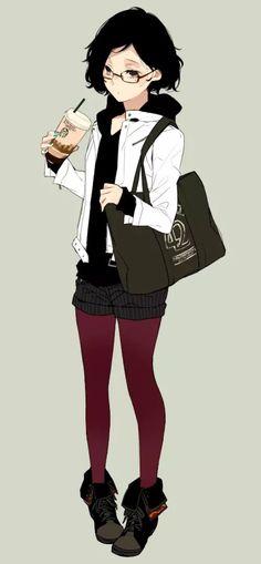 短发娘 二次元 女生 卡通 短发 菇凉 动漫 卡哇伊 妹纸 少女 可爱 短发妹 唯美 图片