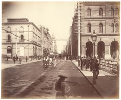 Pitt St Sydney from near GPO from Fred Hardie - Photographs for George Washington Wilson & Co., 1892-1893   by State Library of New South Wales collection