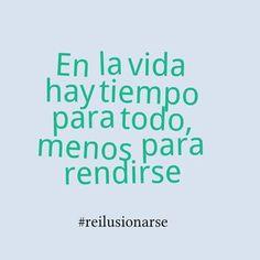 Foto de Exclusivas Imanara. No te rindas...no hay tiempo #seguimos #reilusionarse Vía Twitter @luisgalindo_lg