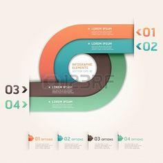 #Modern# Arrow Circle #Infographics