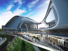 Futuristic Architecture, Sky SOHO by Zaha Hadid, Shanghai, China #architecture ☮k☮