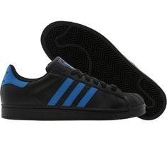 Adidas Superstar II (black / crayon blue / black). $69.99