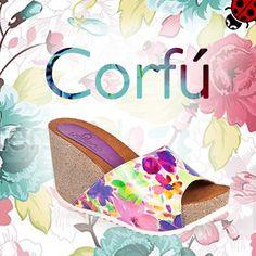 Completa tu look con los zapatos de la #colecciónCorfú. Te proporcionara un estilo griego, floral y divertido Corfu, Positivity, Hats, Womens Fashion, Floral, Shoe Collection, Spring Summer 2015, Over Knee Socks, Hilarious