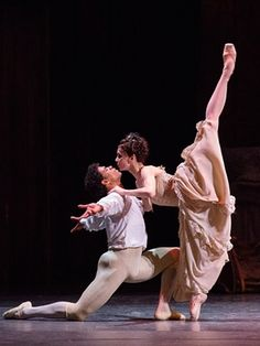 Natalia Osipova and Carlos Acosta in Manon in Moscow.