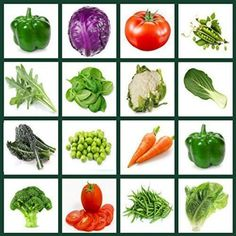 Vegetables Gardening Supplies Heirloom Vegetable Seeds Bulk Pack - Best For and Tomato Seeds, Freezing Green Peppers, Tofu Green Curry, Green Bean Seeds, Green Beans, Vegetable Crafts, Vegetable Gardening, Pre K, Health Education
