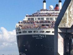 The Bridge. Revivez le retour du Queen Mary 2 à Saint-Nazaire
