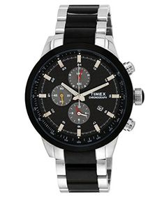 9d1ba51e096 Timex Men s Chronograph Dial Watch Black -- Continue to the product at the  image link · Pánske HodinkyChronograf