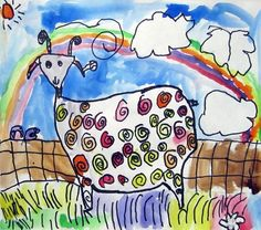 """From exhibit """"Gr. 1 Barnyard Moosical! Goats!""""  by Emily14203"""