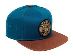 Lumberjack Navy Coffee Snapback Cap by BENNY GOLD