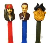 PEZ Pirates of the Caribbean -1 Dispenser