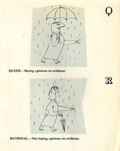 """Q"" and ""R"" The Good Citizen's Alphabet"