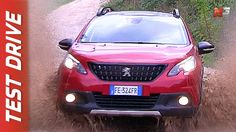 New Peugeot 2008 GT Line BlueHDi 2017 - First Test Drive  - ENG ITA SUB