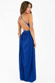 Too casual?? X Back Maxi Dress $58 at www.tobi.com
