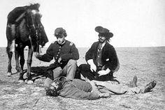 Scalped Morrison - Dodge City, Kansas - a Buffalo Hunter Ralph Morrison who was…