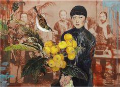 2014 LADY LOQUAT, Hung Liu (b1948, Changchun, China; based in California since 1984)