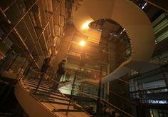 L'incroyable escalier hélicoïdal de la BNU