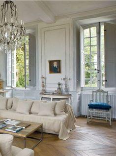 Primitive French Provincial Decorating - Aurélien and Pascale Deleuze's French Home