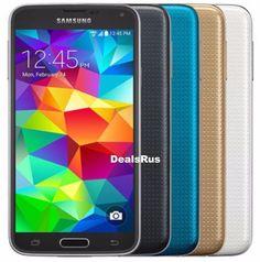 Samsung Galaxy S5 SM-G900V 16GB Verizon AT&T T-Mobile GSM UNLOCKED CellPhone #Samsung #Bar