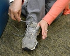 Tips for Teaching Shoe Tying to Children with Motor Difficulties