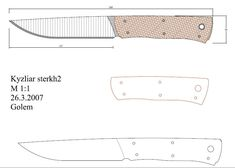 Knife Patterns, Pdf Patterns, Knife Template, Benchmade Knives, Cool Knives, Knife Making, Designs To Draw, Diy And Crafts, Knifes
