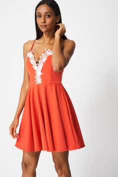 Pretty Dress With Lace Ex-Branded