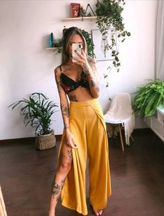 Boho Outfits, Spring Outfits, Casual Outfits, Cute Outfits, Fashion Outfits, Colorful Fashion, Boho Fashion, Womens Fashion, Look Street Style