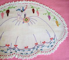 My favorite Crinoline Lady by Lulu at Home ( away ), via Flickr