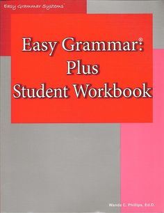 Easy Grammar Plus St Wrkbk + Grade Level: 7 Easy Grammar Systems- Easy Grammar Plus: Student Workbook. 350 pages Easy Grammar, Student, Books, Livros, Libros, Book, College Students, Book Illustrations, Libri