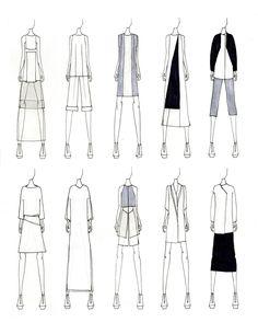 Мода Эскизы |  JUSTINE W. LEE