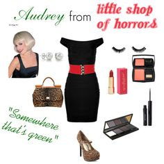 """""""Audrey from Little Shop of Horrors"""" by loves2sing on Polyvore"""