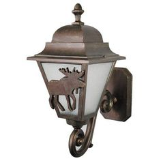 Melissa Americana 1 Light Outdoor Sconce Finish: Aged Silver