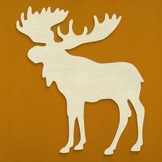"moosse Silhouette | 18.5"" Moose Silhouette"