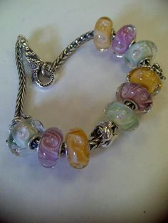 Peaches n' Cream #trollbeads