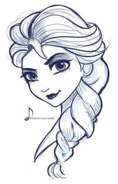 Elsa by 09ShootingStar90 on deviantART