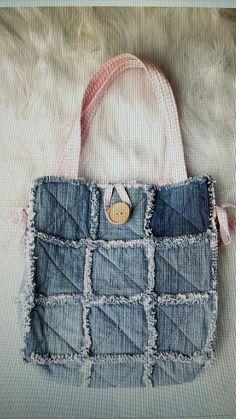 Rag purse Purses, Bag, How To Make, Crafts, Ideas, Kitchen, Handbags, Manualidades, Handmade Crafts