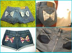 Customize Your Old Shorts | So Creative Things | Creative DIY Projects