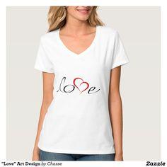 """Love"" Art Design Shirts"