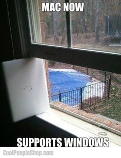 Twitter / CoolPeopleShop: MAC supports Windows ...