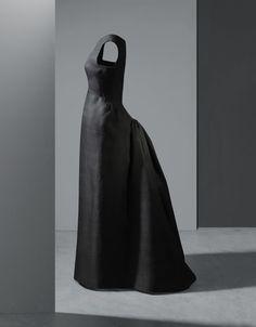 Balenciaga robe du soir en gazar de soie 1962