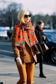 Love this color palette for fall.
